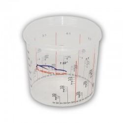 Vaso de Laboratorio | Vaso de Ensayo con Tapa