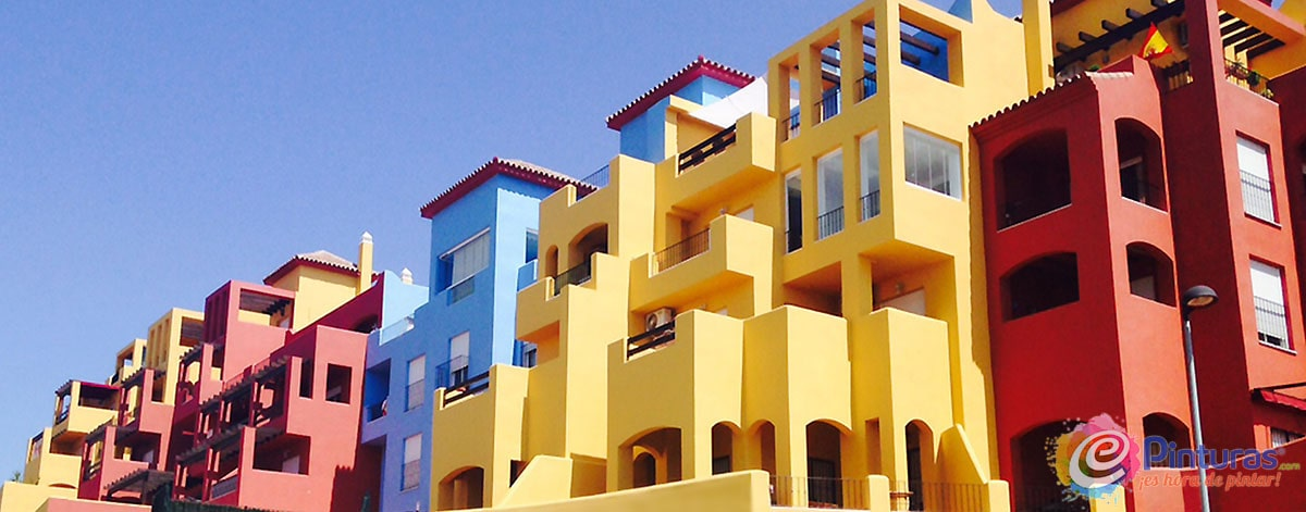 Pintura de fachadas de casas Delta Plus Eurotex
